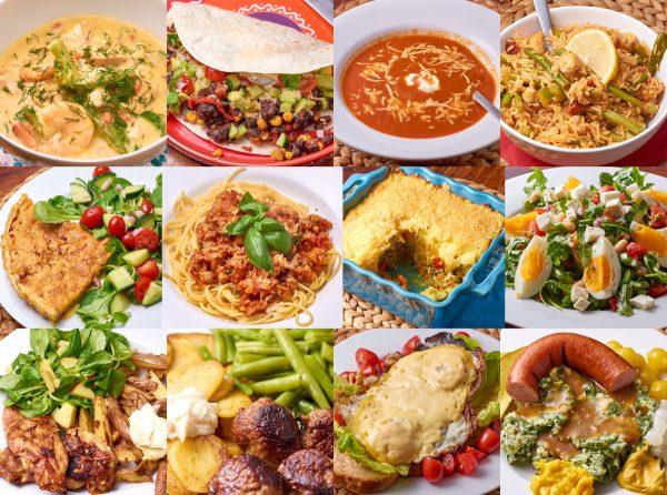 Gerechten de Kookjuf cursus Koken: de basis
